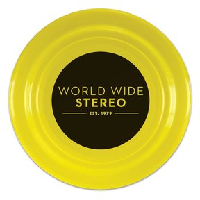 "9"" Yellow Funtime Flyer Frisbee"
