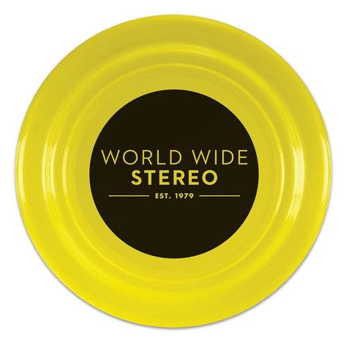 """View Larger Image of 9"""" Yellow Funtime Flyer Frisbee"""