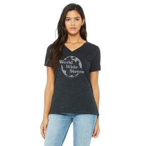 Women's Special Edition 1979 Legacy Series V-neck T-shirt (Charcoal)