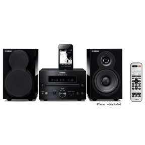 MCR-332 iPod Supported Mini Hi-Fi System (Piano Black)
