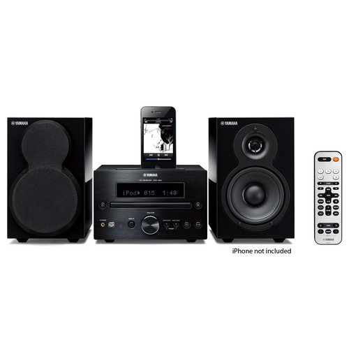 View Larger Image of MCR-332 iPod Supported Mini Hi-Fi System (Piano Black)