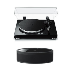 MusicCast Vinyl 500 Turntable with MusicCast 50 Wireless Speaker