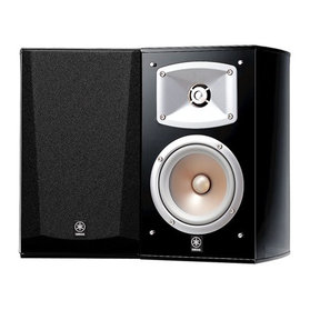 NS-333 Bookshelf Speakers with Crossover - Pair (Black)