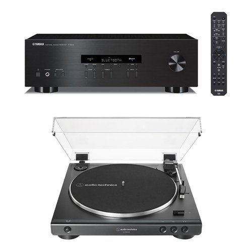 View Larger Image of R-S202 Bluetooth Stereo Receiver with Audio-Technica AT-LP60XUSB Automatic Belt-Driven Stereo Turntable
