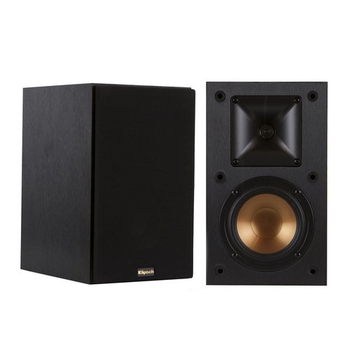View Larger Image of R-S202 Bluetooth Stereo Receiver with Klipsch R-14M Reference Monitor Speaker - Pair (Black)