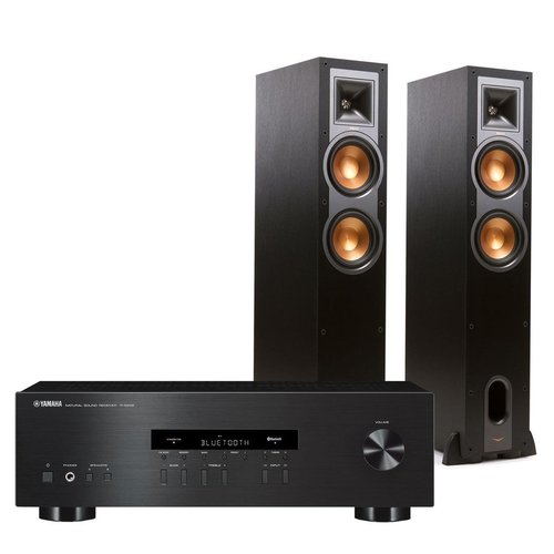 View Larger Image of R-S202 Bluetooth Stereo Receiver with Klipsch R-26F Reference Floorstanding Speakers (Black)