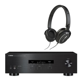 R-S202 Bluetooth Stereo Receiver with Klipsch Reference R6 On-Ear Headphones (Black)