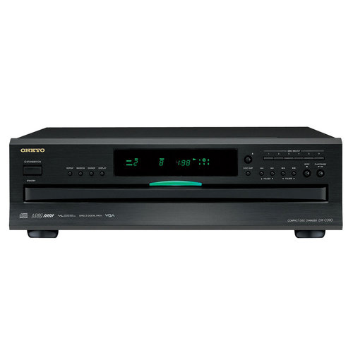 View Larger Image of R-S202 Stereo Receiver and Onkyo DX-C390 6-Disc Carousel CD Changer