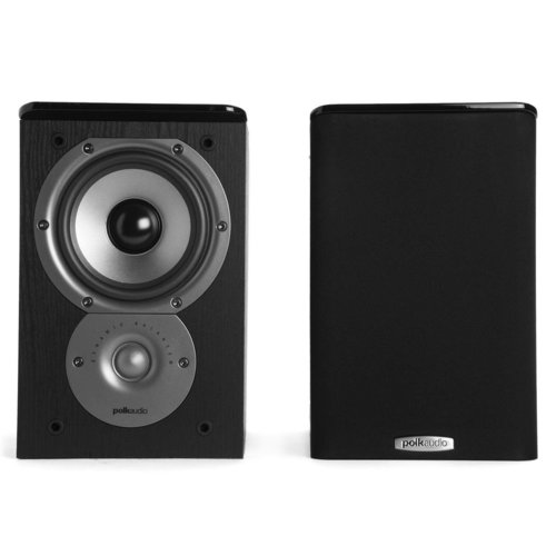 "View Larger Image of R-S202 Stereo Receiver with Bluetooth and Polk TSi100 2-Way Bookshelf Speakers with 5-1/4"" Driver - Pair (Black)"