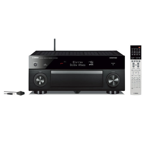 View Larger Image of RX-A1050 7.2-Channel Dolby Atmos 4K AVENTAGE Network AV Receiver with WX-030 MusicCast Wireless Speaker