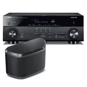 RX-A670 7.2 Channel AVENTAGE Network AV Receiver with WX-030 MusicCast Wireless Speaker (Black)
