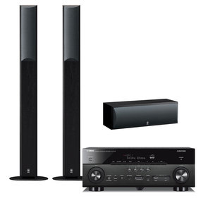 RX-A770 7.2 Channel AVENTAGE Network AV Receiver with NS-F210 Floorstanding Speakers and NS-C210 Center Channel Speaker