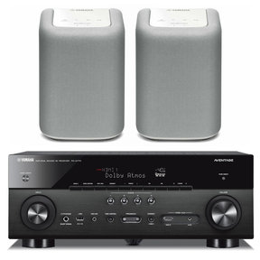 RX-A770 AVENTAGE Network AV Receiver with WX-010 MusicCast Wireless Speakers
