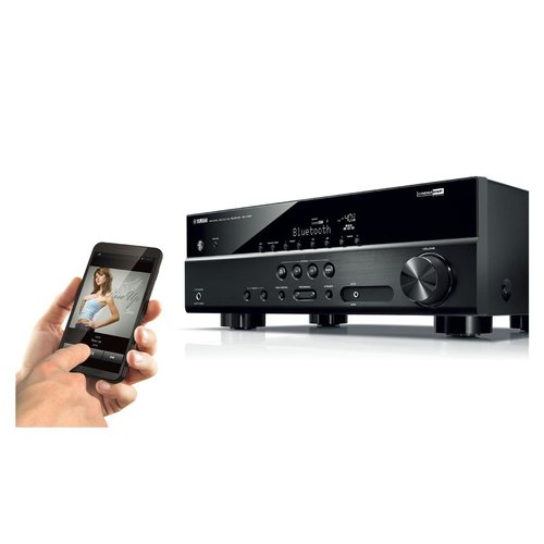 View Larger Image of RX-V381 5.1-Channel AV Receiver With Bluetooth/HDCP 2.2 and Klipsch R-26F Reference Floorstanding Speakers - Pair (Black)