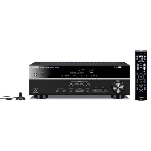 View Larger Image of RX-V383 5.1 Channel AV Receiver with Klipsch R-14M Reference Monitor Speakers - Pair (Black)