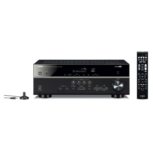 View Larger Image of RX-V385BL 5.1 Channel AV Receiver with YPAO Automatic Room Calibration