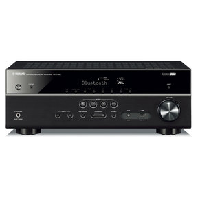 RX-V385BL 5.1 Channel AV Receiver with YPAO Automatic Room Calibration