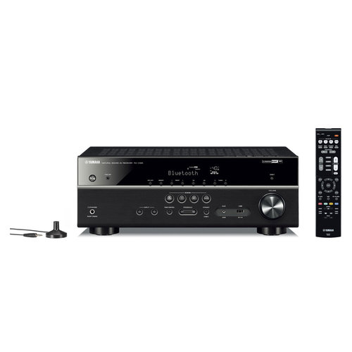 View Larger Image of RX-V485BL 5.1 Channel AV Network Receiver with Wi-Fi and Bluetooth