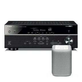 RX-V583 7.2 Channel AV Network Receiver with Dolby Atmos and DTS:X Surround Sound with WX-010 MusicCast Wireless Speaker