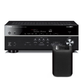 RX-V683 7.2 Channel AV Network Receiver with Dolby Atmos and DTS:X Surround Sound with WX-010 MusicCast Wireless Speaker