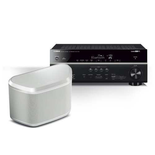 View Larger Image of RX-V779 7.2 Channel Receiver with WX-030 MusicCast Wireless Speaker