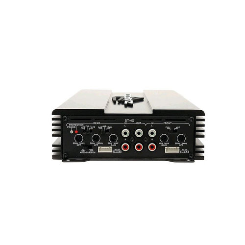 View Larger Image of ST-4XII Class A/B 80 Watts x 4 @ 2 Ohms 4-Channel Amplifier